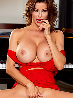 Alexis Fawx in Lady In Red