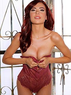Sabina Rouge in Shimmering Seduction