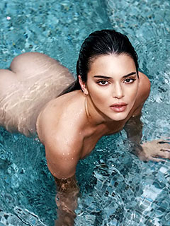 Kendall Jenner is In The Pool
