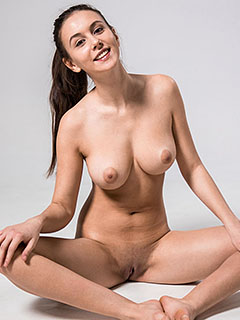 Alisa Amore in Nude Exercise