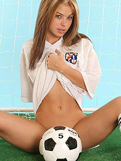 Kari Sweets in Naked Soccer