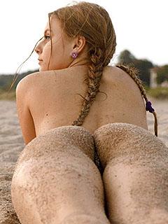 Adelina Dey in Summer In Russia