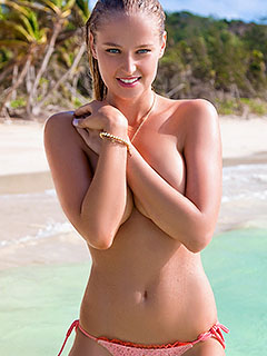 Genevieve Morton is On The Beach