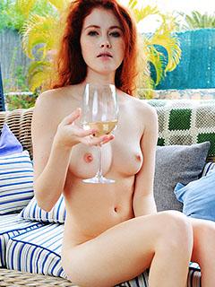 Heidi Romanova in Fyrra