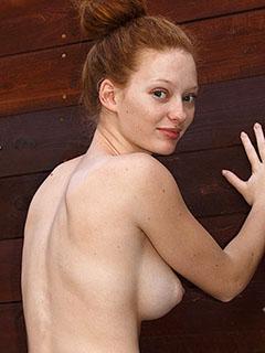 Wendy Patton in Organic Ginger Scrub