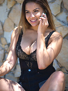 Lacey Banghard in A Quick Call