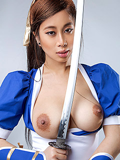 Jade Kush in Dead Or Alive Kasumi