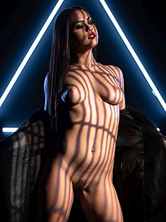 Alina Lopez in Neon Triangle