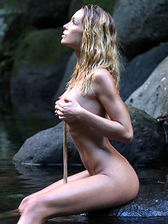 Christy Lacour Gianini in River Nymph