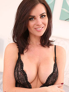 Emma Glover in Sheer Lingerie