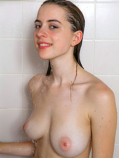 Eva Green is Under Shower