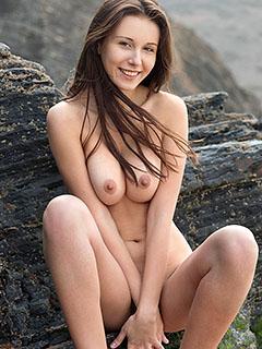 Alisa Amore in Seaside Escape