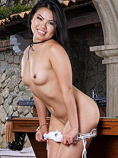 Cindy Starfall in Pool Game