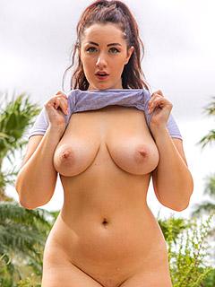 Lexi Lloyd in Bikini Top
