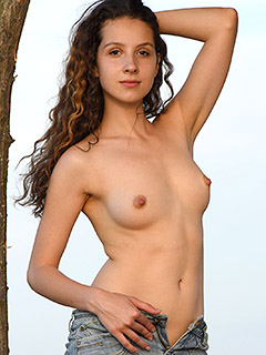 Melissa Maz in Sand Dunes