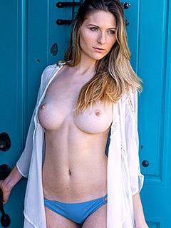 Katie Darling in Grecian