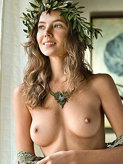 Katya Clover is Aphrodite