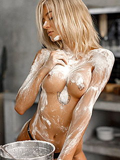 Jenny Q in Dirty Flour