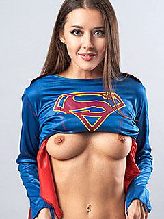 Sybil Kailena is Supergirl