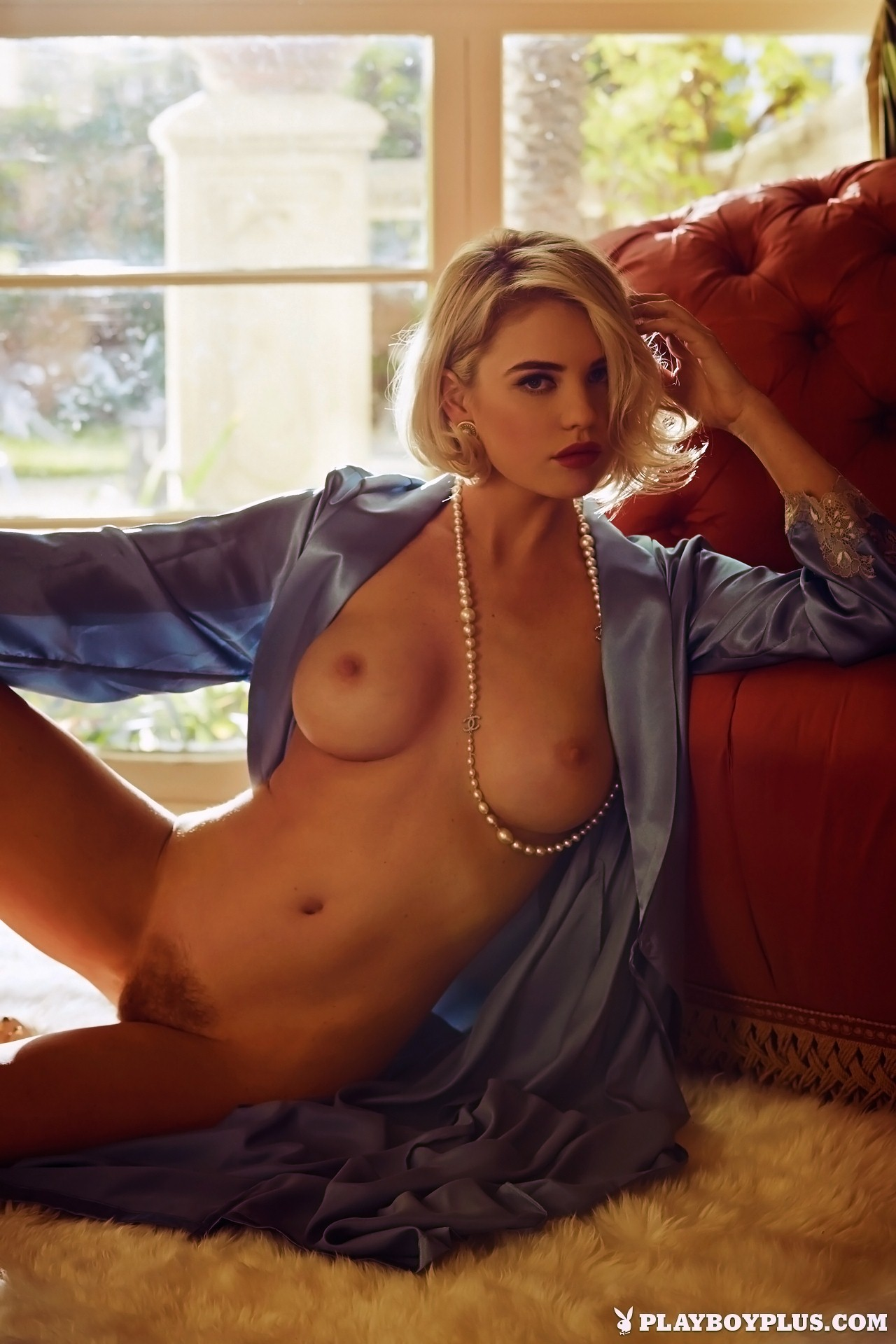 Kayslee Collins Nude In Plush  A Tribute To Playboy-6946