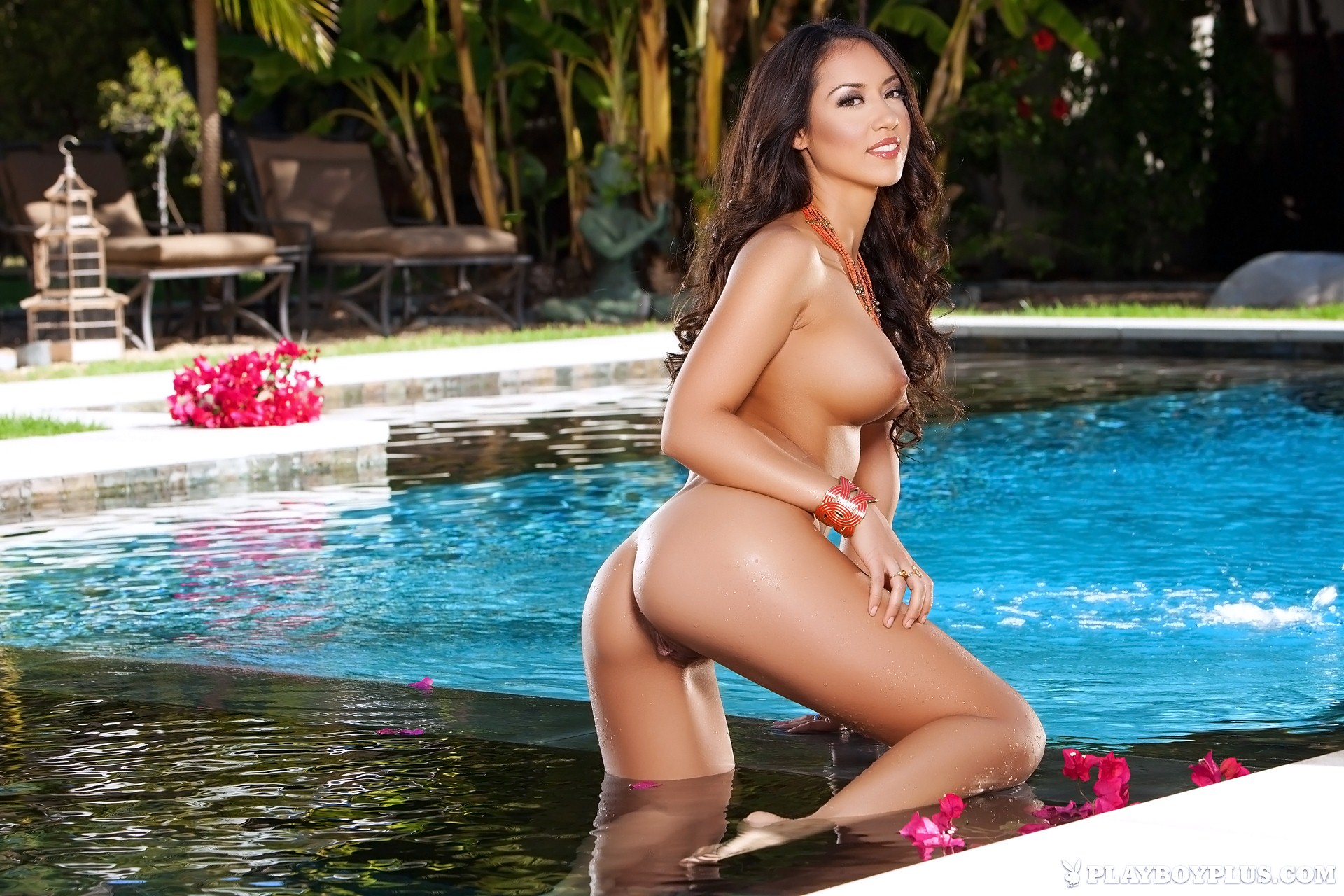 Playboy playmates swimming nude