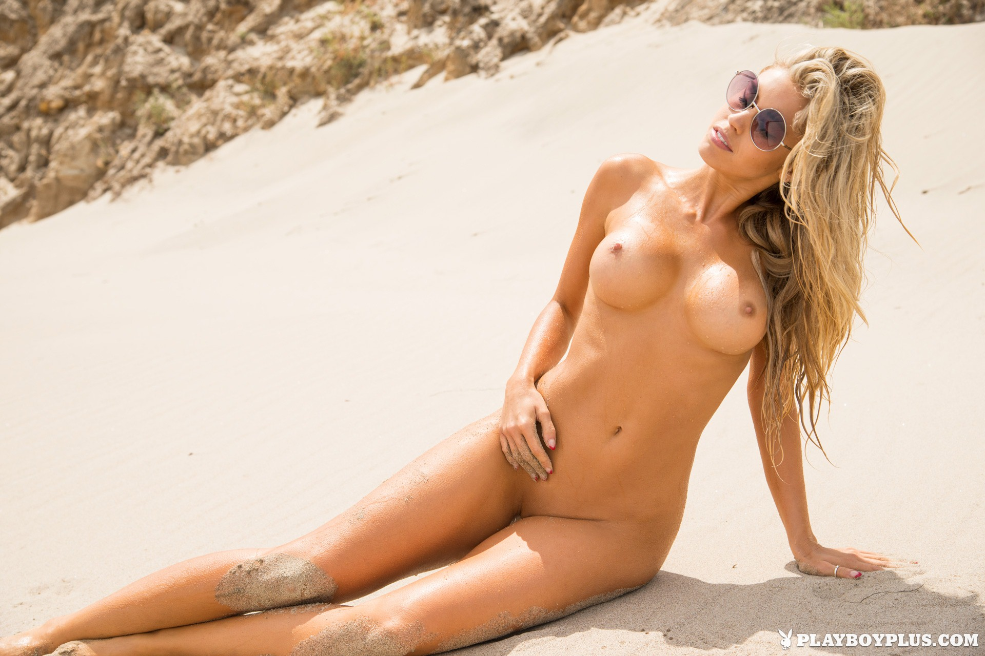 Kayla Rae Reid Nude In Beach Bum  A Tribute To Playboy-7883
