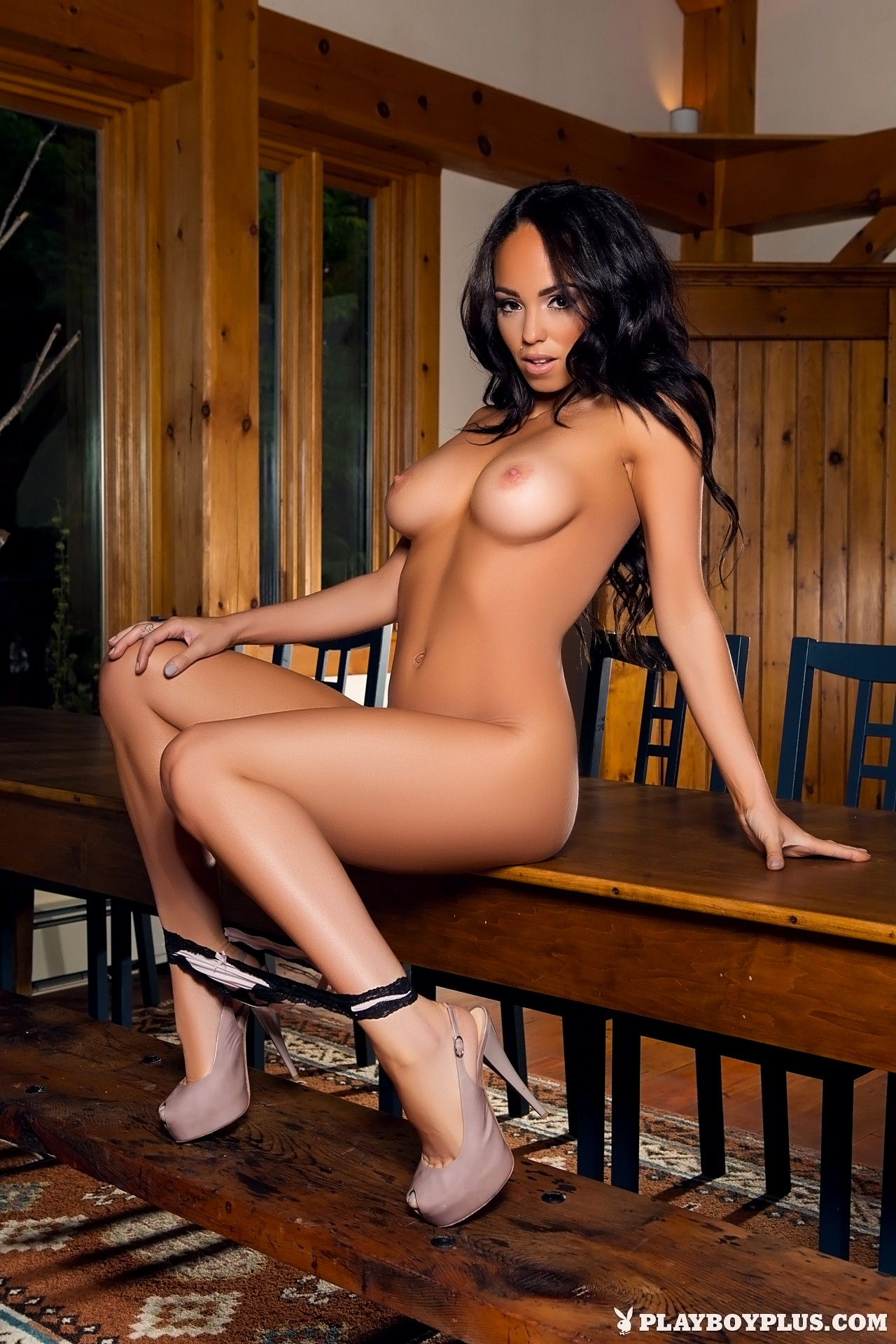 Shay Marie In Dining Hall Dime  A Tribute To Playboy-9121