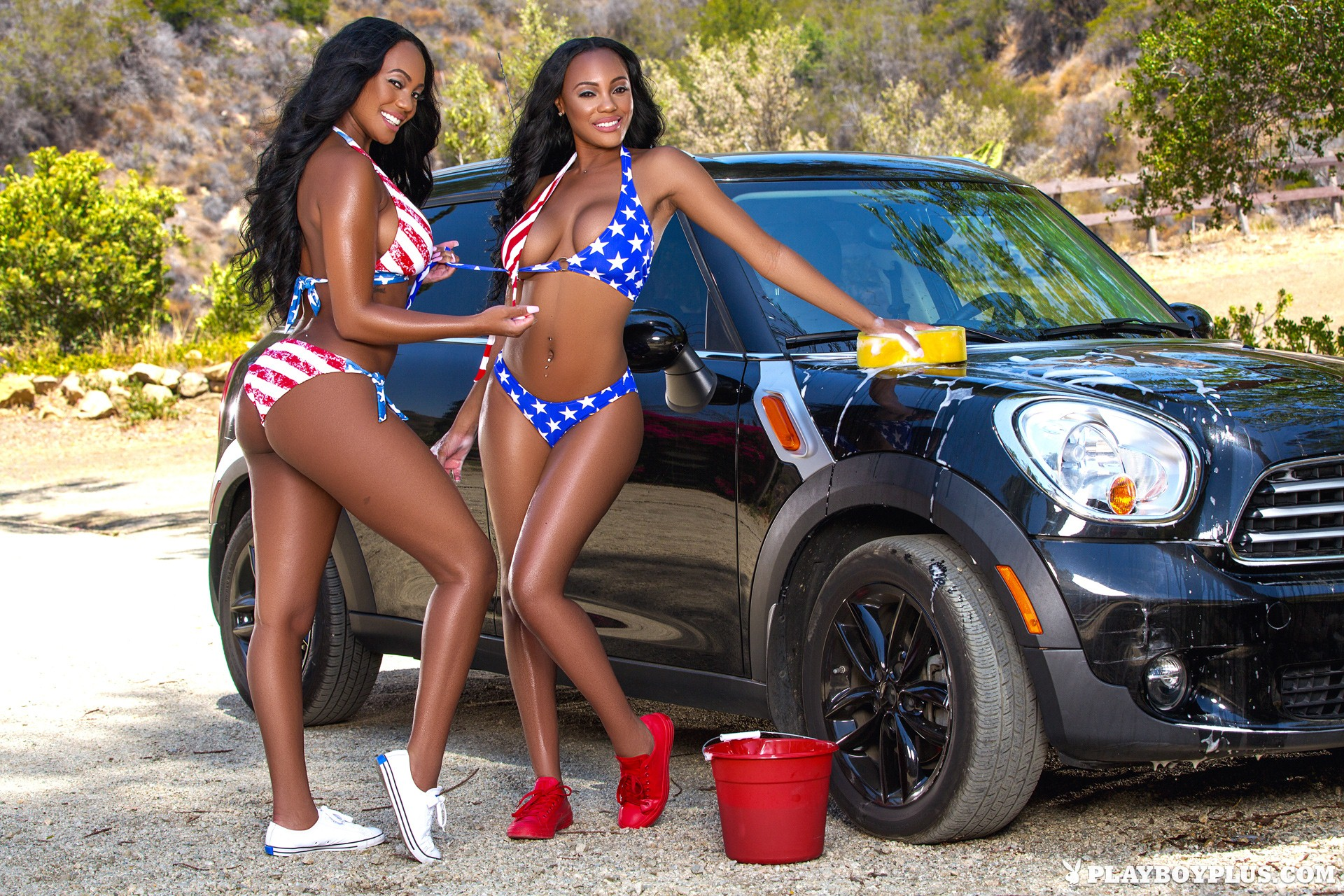 Brittany And Brandi Kelly Cybergirls Of The Month July -3315