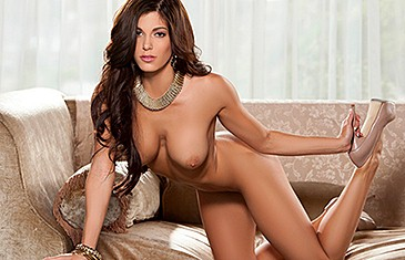 Meghan Nicole in Seductive Brunette