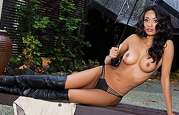 Brandi Alexander in Stripping in the Rain