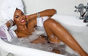 Eugena Washington Playboy Playmate of the Month December 2015
