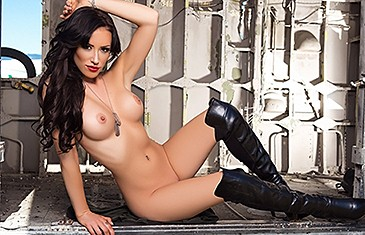 Alyssa Bennett in Sexy All Over