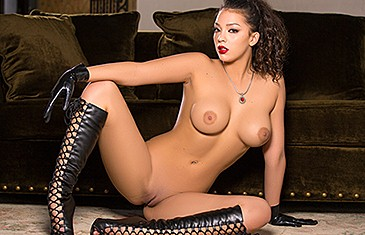 Kelsi Shay in Leather Bound