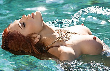 Molly Stewart in A Quick Dip